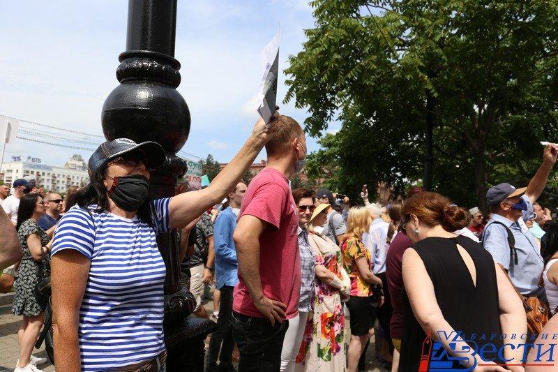 Люси Дикерсон: К вопросу о продолжающихся протестах в Хабаровске...